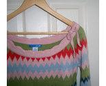 Delias sweater w 40s style pink orange green thumb155 crop