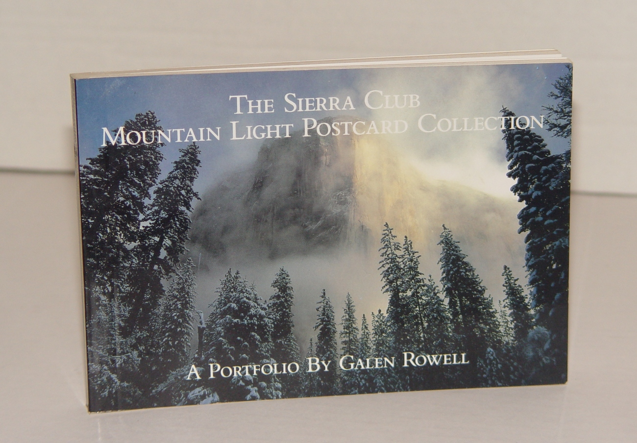 Primary image for The Sierra Club: Mountain Light Postcard Collection: a Portfolio by Sierra Club