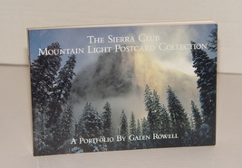 The Sierra Club: Mountain Light Postcard Collection: a Portfolio by Sier... - $20.00
