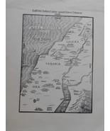 Map of ancient Samaria and Galilaea - $12.99