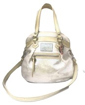 Coach Poppy ~ Pearl Opal Sequins Large Highlight Bag Tote ~ Patent Leath... - $89.00