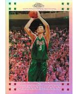 Yi Jianlian Topps Chrome 07-08 #135 Rookie Refractor Milwaukee Bucks - $75.00