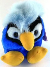 Jake the Blue Jay Bird Puffkins Bean Bag Plush 1999 Blue Bird with Hang Tag - $5.93