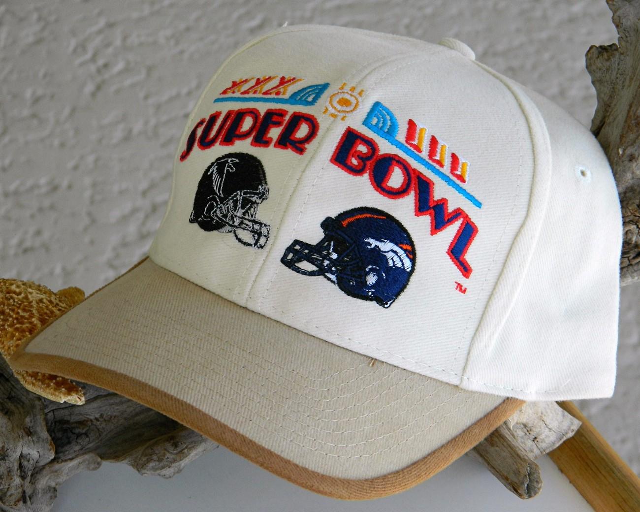 Super Bowl XXXIII NFL Football Cap Hat Denver Bronco New Tag