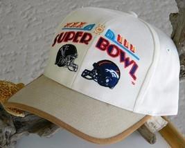 Super Bowl XXXIII NFL Football Cap Hat Denver Bronco New Tag image 1