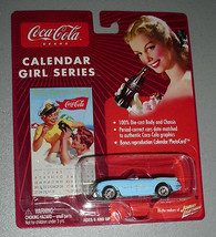 COCA COLA 54 CORVETTE Conv. #8 CALENDAR GIRL EDITION - $10.00