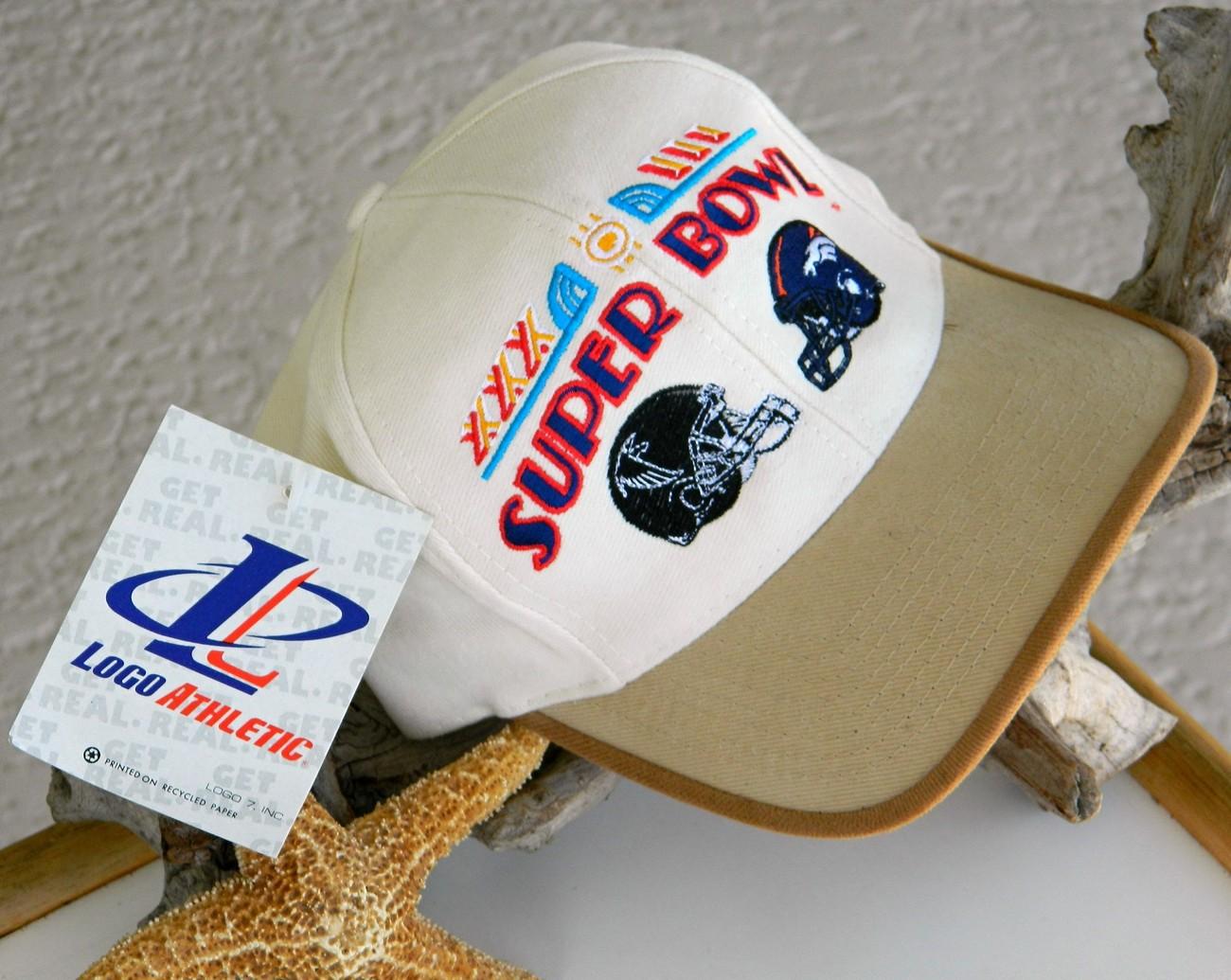 Super Bowl XXXIII NFL Football Cap Hat Denver Bronco New Tag image 2