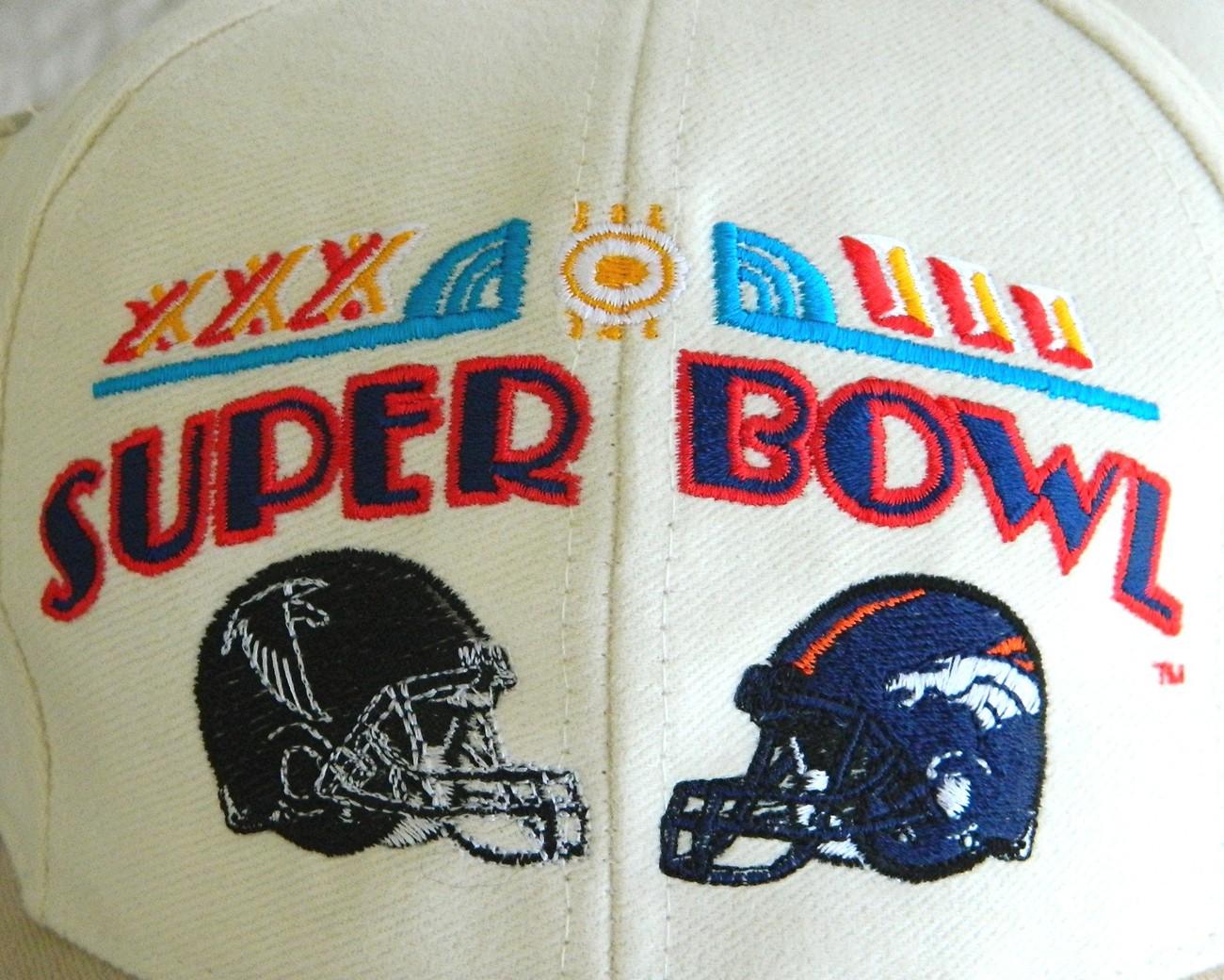 Super Bowl XXXIII NFL Football Cap Hat Denver Bronco New Tag image 4