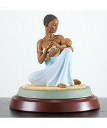 Thomas Blackshear The Blessing Figurine Mother Baby Ebony Visions 1st Is... - $228.00
