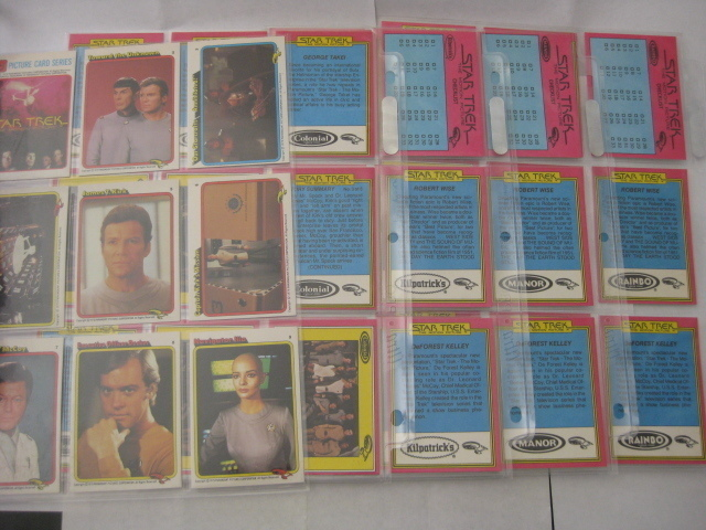 STAR TREK IV THE VOYAGE HOME  Sealed Box of 36 Packs BY FTCC 1987