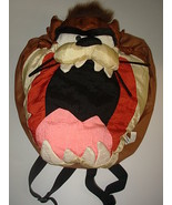 Looney Tunes Tasmanian Devil Plush Nylon Backpa... - $13.88