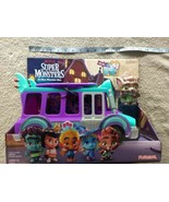 Netflix Playschool Super Monsters GrrBus Monster Bus Toy Lights Sounds &... - $49.97