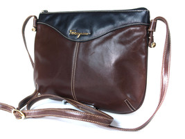 Auth SALVATORE FERRAGAMO Brown Leather Cross-body Shoulder Bag FS13178L - $120.00