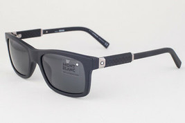Mont Blanc Matte Black / Smoke Sunglasses MB646S 02A - $185.22