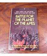 1973 Battle for the Planet of the Apes Paperback Book, PB - $4.95