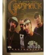 GODSMACK IN YOUR FACE UNAUTHORIZED DVD - $3.50