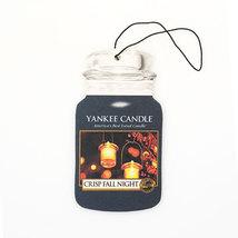 12 new yankee candle classic car jar air freshener crisp fall night scent - $26.00