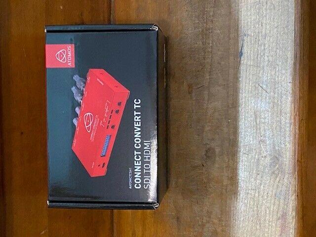 Atomos ATOMCTCSH1 Connect Convert TC | SDI to HDMI Converter-Brand New