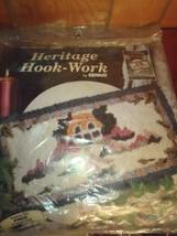 NEW Vintage Bernat ENGLISH COTTAGE Heritage Hook Work Kit - $32.43