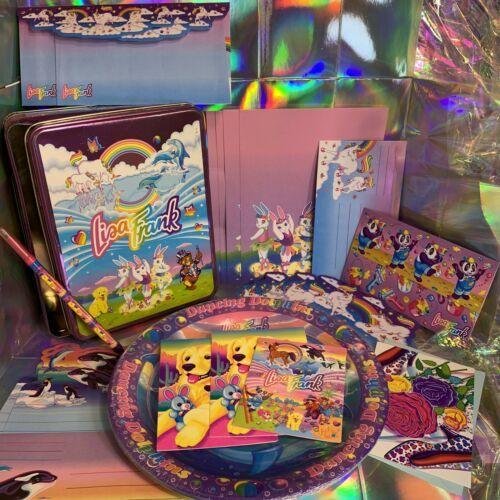 Lisa Frank Stationery Tin Markie Imagionationery Heels Roses Notecards Party