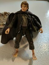 The Lord of the Rings Samwise Gamgee w/base Mt Doom & accessories 2001 Marvel image 3