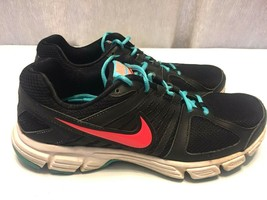 Nike Downshifter 5 Women's Black Turquoise Running Shoes Size 10 #537571... - $15.35