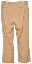 Axcess by Liz Claiborn Women's Tan Khaki Stretch Dress Pants Slacks Size 14 image 2