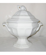 Red Cliff Ironstone 2.5 QT Soup Tureen With Lid Grape Design Octagon Mar... - $100.00