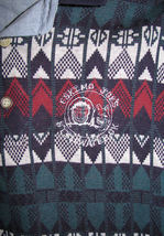 Mens Eskimo Joe's Stillwater OK Polo Golf Long Sleeve Size L Winter Warm image 3