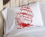 Red sail ship pillowcase thumb155 crop