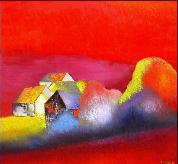 52 vibrant hillside