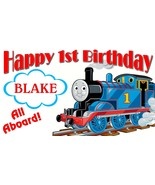 Thomas the Train Custom -Personalized- Birthday Party Banner Decoration - $34.95