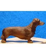 Dachshund Pet Dog Heidi Ott Dollhouse red/brown short hair - $9.75