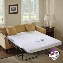 Luxury White Microfiber WATERPROOF Sofa Bed Mattress Pad - FULL & QUEEN ... - $47.49+
