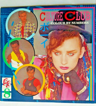 Culture Club Colour By Numbers QE-39107 LP Vinyl Record Virgin/Epic Records - £4.00 GBP