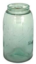 Ball Mason Jar Aqua Blue Antique #0 1900-1910 3 L LLL Logo  Exc Cond - $34.93