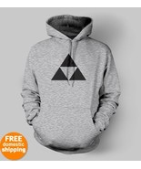 Legend of Zelda black logo Hoodie nintendo vide... - $29.95