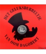 Extremely Rare! Disney Uncle Scrooge Geluksdubbeltje (Dutch First Cent) ... - $69.30