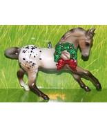Custom Made Appaloosa Varnish Roan Warmblood Breyer Horse Christmas Orna... - $18.00