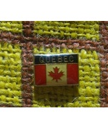Canada Flag Pin Sovenir QUEBEC - $3.00