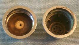 Vtg SPICE OF LIFE Salt and Pepper Shakers- ChromeTops -Corelle Gemco Corning GU  image 9