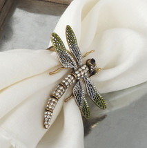 Fennco Styles Luxurious Jeweled Napkin Rings, Set of 4 - $79.99