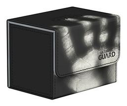 Ultimate Guard Deck Box: Sidewinder 80+ ChromiaSkin Black - $22.83
