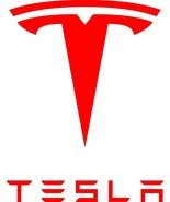 """TESLA DECAL  MOTOR Height 5"""", 10"""", 12"""" Available STICKER  - $5.93+"""