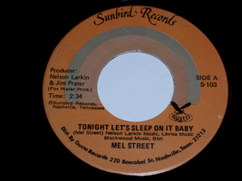 Mel Street Tonight Let's Sleep On It Baby Muddy Mississippi 45 Rpm Record - £10.07 GBP