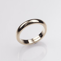 Tiffany & Co. 14k Yellow Gold Vintage Wedding Band Size 7.25 4 mm - $712.80