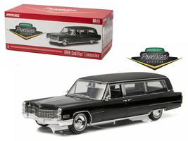 1966 Cadillac S&S Limousine Black Precision Collection Limited Edition 1... - $197.58