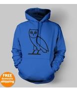 Ovo Xo black owl Hoodie ovoxo hoody Drake hip h... - $29.85