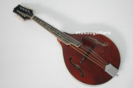 Musoo Brand Acoustic A Style Mandonlin with Brown Finish - $282.35