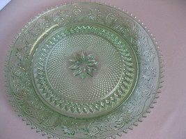 """Indiana Glass Tiara Exclusives Chantilly Sandwich 12"""" Round Platter or T... - $42.99"""